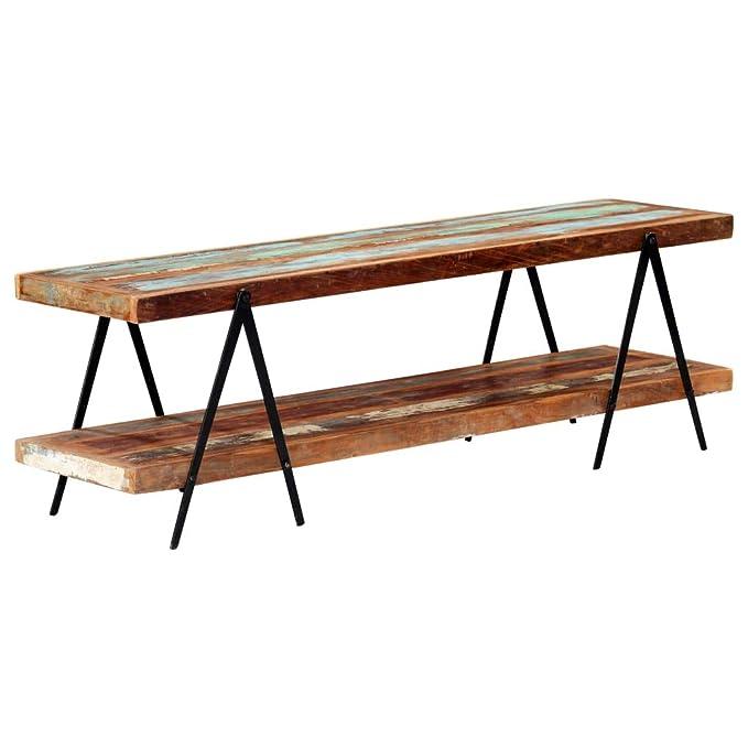Galapara - Mueble de TV Vintage, 160 x 40 x 50 cm, Mesa Baja de ...