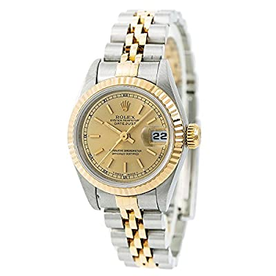 Rolex Datejust Automatic-self-Wind Female Watch 69173 (Certified Pre-Owned) from Rolex