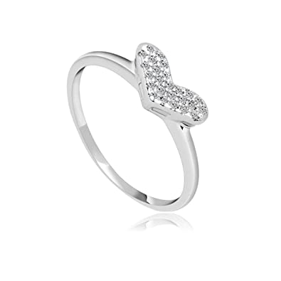 Copper DTZH Rings Jewellery Womens Ring Classic Diamond Zircon Ring Material