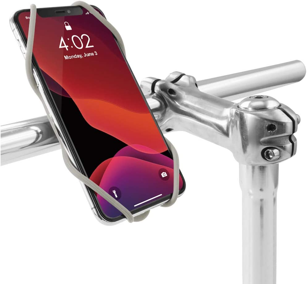 Red Fits Mobile Devices from 4.2 to 7.2 3rd Gen Universal Bicycle Handlebar Holder Compatible with iPhone 11 Pro Max X 8 Plus Bone Bike Phone Mount Galaxy S10 S9 S8 Edge Note Series