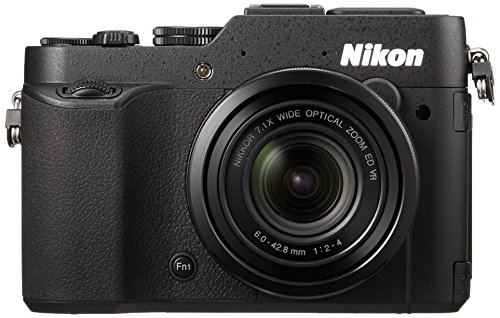 Nikon COOLPIX P7800 digital camera large aperture lens Vari-angle LCD Black P7800BK - International Version (No Warranty)