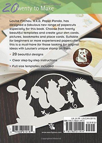 Papercuts twenty to make paper panda 9781782211914 amazon papercuts twenty to make paper panda 9781782211914 amazon books maxwellsz