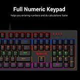 Redragon S117 Gaming Keyboard Mouse Combo