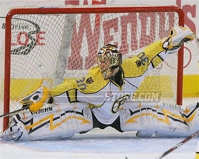 Tuukka Rask Boston Bruins Providence goalie split 8x10 11x14 16x20 photo 325