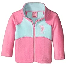 U.S. Polo Assn. baby-girls Baby Baby-Girls Mock-Neck Polar-Fleece Jacket