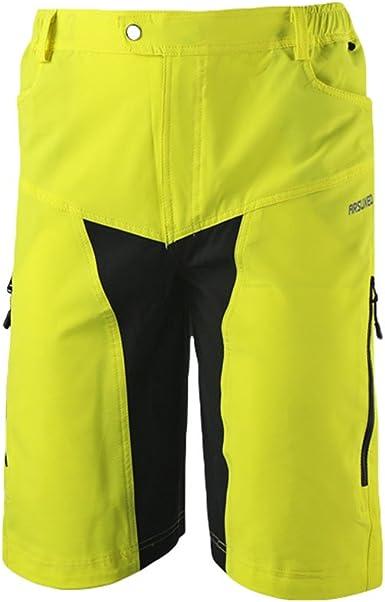 Ketamyy Hombre Pantalones Cortos De Ciclismo Fitness Escalada ...