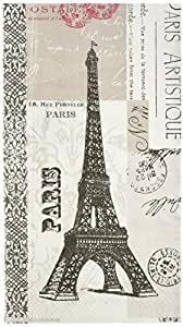 Paperproducts Design Paris Artistique Paper Guest Towel, 15-Pack