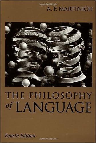 PHILOSOPHY OF LANGUAGE MARTINICH EBOOK