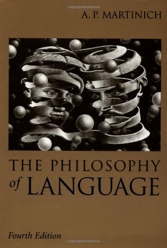 The Philosophy of Language by Oxford University Press