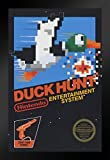Pyramid America Duck Hunt Nintendo NES Video Gaming Framed Poster 14x20 inch