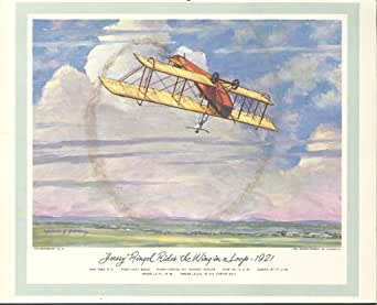 Billy Brock Jersey Ringel Curtiss JN4 1921 print 1954