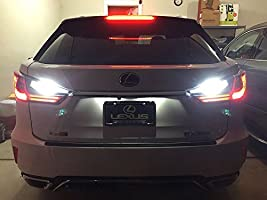 2 Pieces LEDpartsNow WHITE LED Reverse BackUp Replacement Light Bulbs for 2011-2017 Mazda CX-5 CX5 Accessories 921 T10 906 912 901 906 909 T15