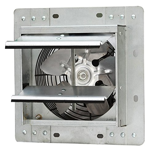 iLIVING ILG8SF7V Shutter Exhaust Fan, 7, Silver ()