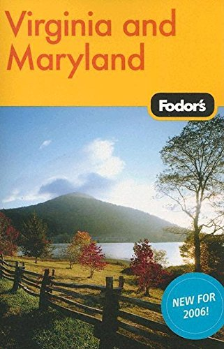 Fodor's Virginia and Maryland, 8th Edition (Travel Guide) PDF