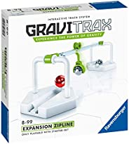Ravensburger GraviTrax Zipline Accessory - Marble Run and STEM Toy for Boys and Girls Age 8 and Up - Expansion