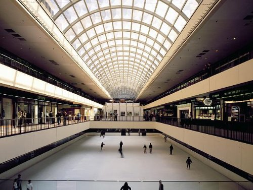 Photo: Skating rink inside Galleria - The Galleria Mall Houston