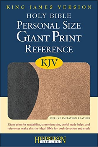 Holy Bible: King James Version, Personal Size Giant Print