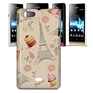 Phone Case For Sony Xperia Miro - Love From Paris Designer Slim wangjiang maoyi