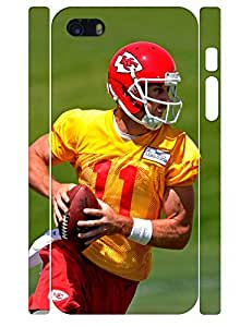 3D Print Charming Football Men Rugged Phone Dust Proof Case for Iphone 5 5S