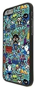 "iphone 6 Plus 5.5"" StickerBomb Sticker Bomb Cartoon Sweet Blood Funky Design Fashion Trend CASE BACK COVER Hard Plastic & Metal by icecream design"