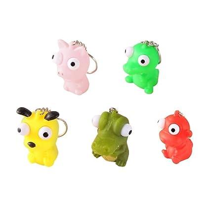 Llavero Squishies de aumento lento de 5pcs Squeeze Toys ...
