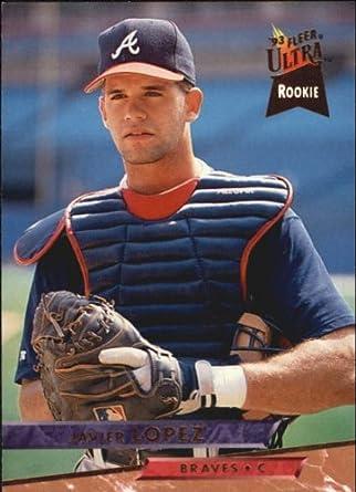 Amazoncom 1993 Ultra Baseball Card 9 Javier Lopez Near