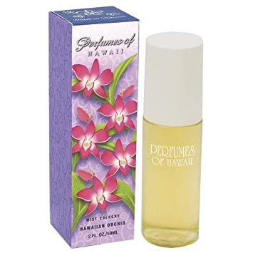 Hawaiian Orchid Mist Cologne – 2 FL OZ – Perfumes of Hawaii