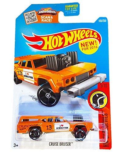 Hot Wheels 2016 HW Daredevils Cruise Bruiser 165/250, Orange