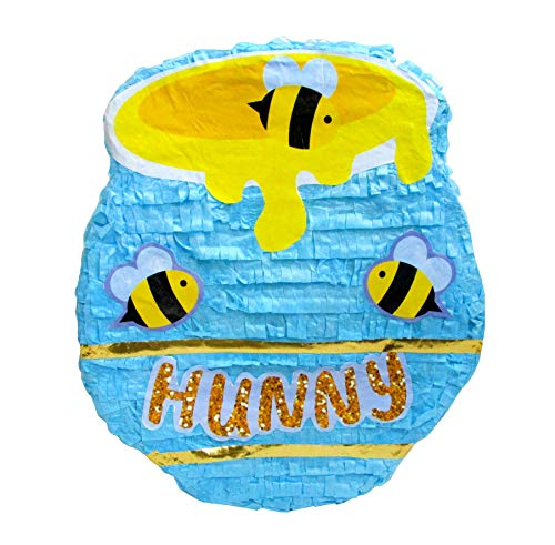 Honey Pot Pinata, Birthday Party Game, Baby Shower Decoration and Photo Prop -