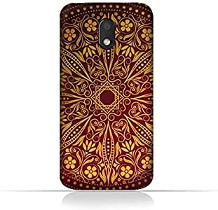 Motorola Moto E3 TPU Silicone Case With Floral Pattern 1201