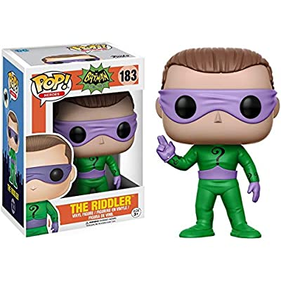 Funko POP Heroes DC Heroes Riddler Action Figure (Style and Color May Vary): Funko Pop! Heroes:: Toys & Games