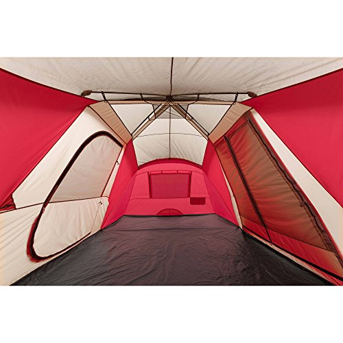 Ozark Trail 12 Person 3 Room Hybrid Instant Tent With Awning