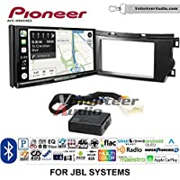 Volunteer Audio Pioneer AVIC-W8400NEX Double Din Radio Install Kit with Navigation, Apple CarPlay and Android Auto Fits 2011-2012 Toyota Avalon with Amplified System