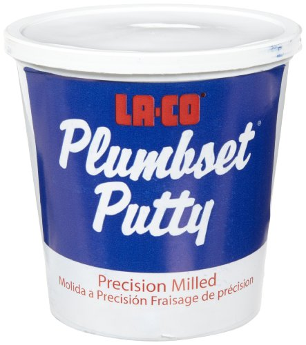 Buy cheap LA-CO Plumbset Professional Plumbers' Putty, 3 lbs