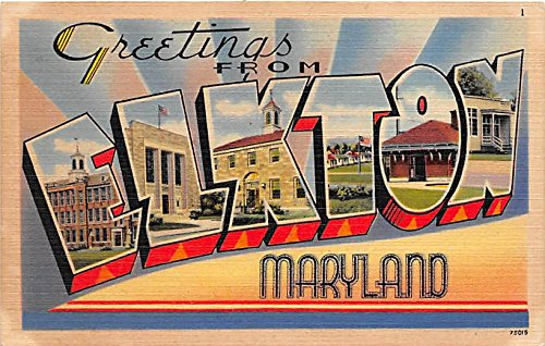 Elkton, Maryland Postcard from Old Postcards