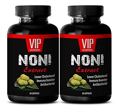 weight loss pills - NONI EXTRACT 500 Mg - IMMUNE BOOSTER - noni immunity - 2 Bottles (120 Capsules) by VIP Supplements