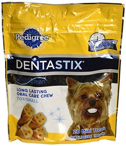 Pedigree Dentastix Deep Clean Original, Toy/Small Dogs, 20 Mini Treats, 11.5 Oz by Pedigree (Dentastix Deep Clean Mini compare prices)