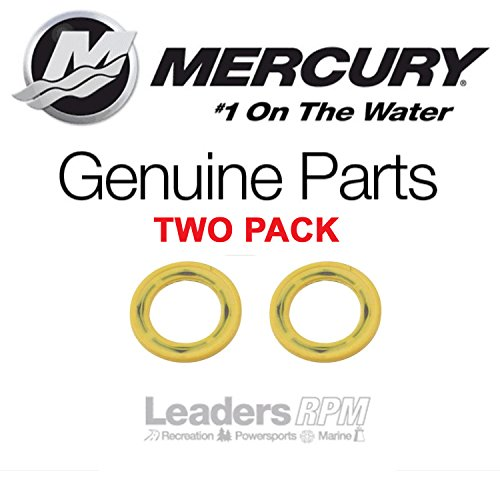 Mercury Marine/Mercruiser OEM Gearcase Drain Plug Seal Washer TWO PACK 26-830749 Mercury Gear Case