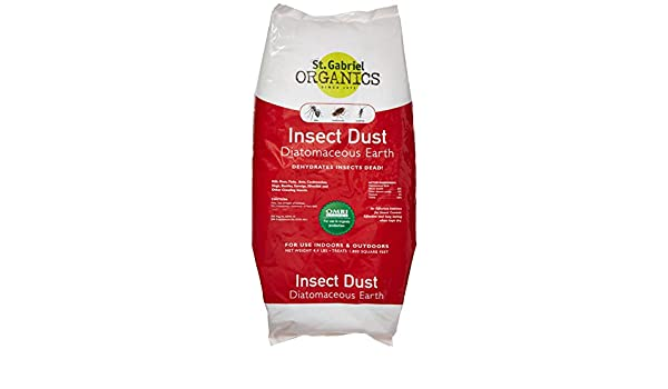 St. Gabriel Laboratories All Natural Indoor/Outdoor Insect Dust Repellent - 4.4 lb Bag 50020-7: Amazon.es: Jardín