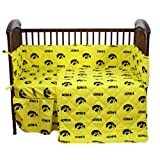 College Covers Iowa Hawkeyes 5 Piece Baby Crib Set