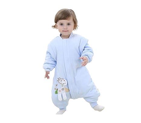 1 pieza Unisex niños algodón jirafa estilo más grueso Pelele Mono invierno saco de dormir bebé