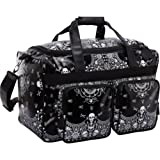 Loungefly LFTB0165 Tote,Black/White,One Size, Bags Central