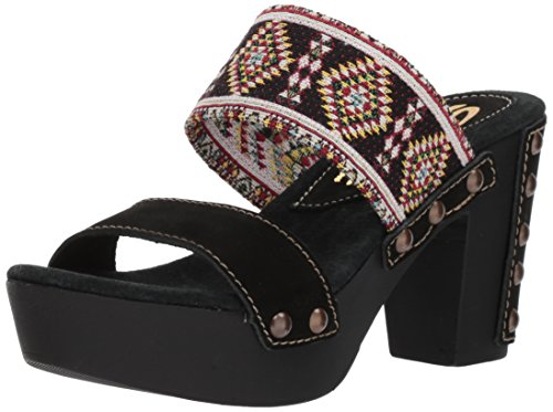 Sbicca Women's Kashmir Heeled Sandal Black/Multi