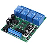 DC 4-Channel Multifunction Delay Time Timer Relay Switch Module