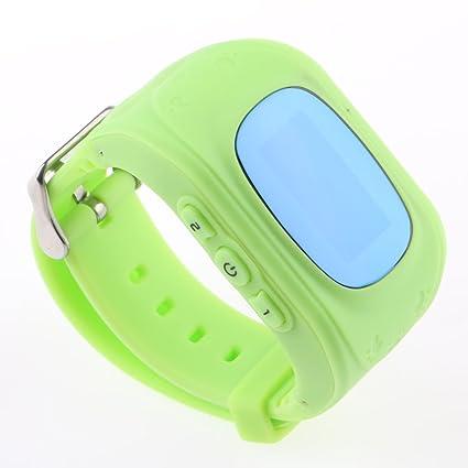 VANKER Reloj de teléfono inteligente Q50 niños Anti-perdido GPRS Tracker reloj para IOS y