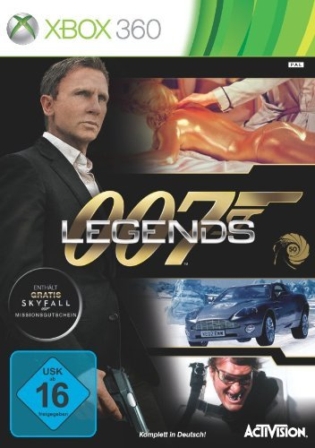 Activision James Bond 007: Legends, Xbox 360 - video games (Xbox 360, Xbox 360, Action, T (Teen), DEU, Basic, Activision) by ACTIVISION (Bond 007 Legends)