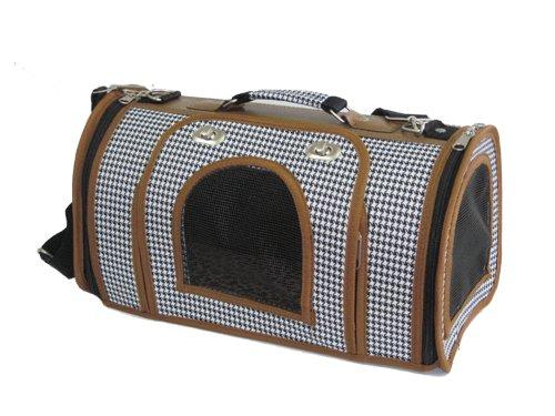 Pet Carrier Airline Bag Tote Purse Handbag by BestPet