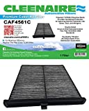 Cleenaire CAF4561C Activated Carbon Protection Against Bacteria, Gases, Dust, Viruses, Odors and Allergens,Cabin Air Filter for Your 14 To Current Mazda 3, Mazda 6, CX-5