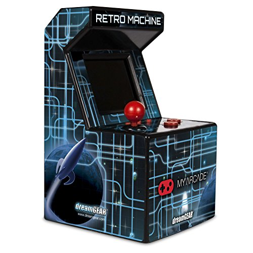 My Arcade Retro Arcade Machine Handheld Gaming System with 200 Built-in Video - Wall Supply Sports