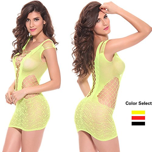 (Red/One Size)2016 Hot Sell Sexy Lingerie Hot Mesh Hollow Baby Doll Dress Erotic Lingerie Black Red Women sexy costumes cotton sexy underwear